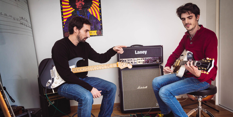 image bandeau cours guitare et bass
